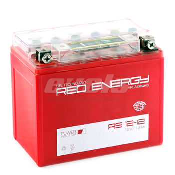 Red Energy RE12-12 (YTX12-BS 12 А/ч)